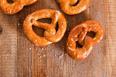 Bavarian pretzels. Stock Photos