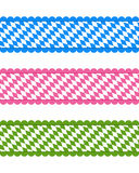 Bavarian ribbons Royalty Free Stock Photography
