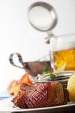 Bavarian roast pork Royalty Free Stock Image