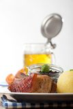 Bavarian roast pork Stock Photography
