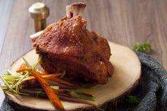 Bavarian roast pork knuckle Royalty Free Stock Photography