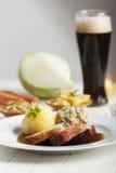 Bavarian roasted pork Royalty Free Stock Photography