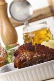 Bavarian roasted pork Stock Images
