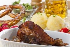 Bavarian roasted pork Royalty Free Stock Image