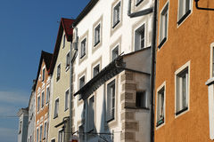 Bavarian Row Houses Royalty Free Stock Image