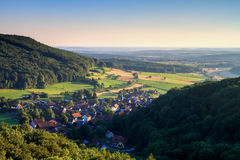 Bavarian Rural Countryside Landscape Royalty Free Stock Photography