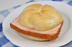 Bavarian Sandwich Royalty Free Stock Photos