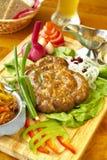 Bavarian sausage-grill Stock Image