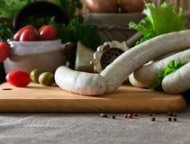Bavarian sausage Royalty Free Stock Photos