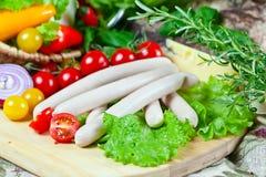 Bavarian sausage Stock Image