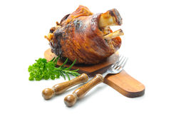 Bavarian Schweinshaxe Royalty Free Stock Images
