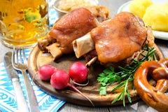 Bavarian Schweinshaxe Royalty Free Stock Photo