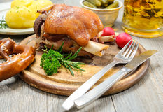 Bavarian Schweinshaxe Stock Image