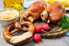 Bavarian Schweinshaxe Royalty Free Stock Photos