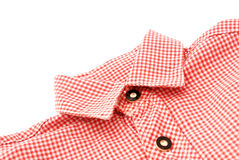 Bavarian shirt collar Stock Image