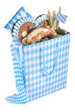 Bavarian shopping bag Royalty Free Stock Image