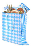 Bavarian shopping bag Royalty Free Stock Photography