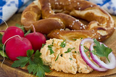 Bavarian Snack Stock Photo
