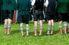 Bavarian socks Stock Photo