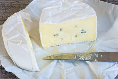 Bavarian soft cheese Royalty Free Stock Photography