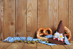 Bavarian soft pretzels Royalty Free Stock Images