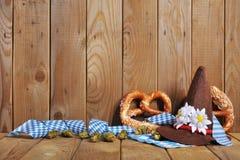 Bavarian soft pretzels Royalty Free Stock Images