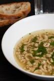 Bavarian soup Stock Photo