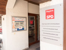 Bavarian SPD Royalty Free Stock Photography