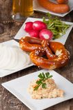 Bavarian specialities Stock Images