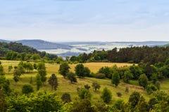 Bavarian Spring Landscape Stock Photos