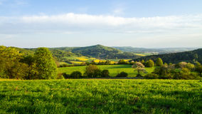 Bavarian Spring Landscape Royalty Free Stock Photography