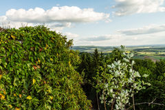 Bavarian Spring Landscape Stock Photography
