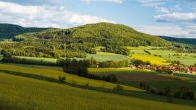 Bavarian Spring Landscape Royalty Free Stock Photo