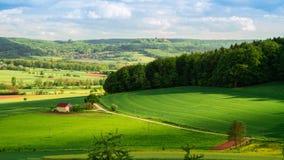 Bavarian Spring Landscape Royalty Free Stock Image
