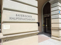 Bavarian state archives Stock Image