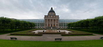 Bavarian State Chancellery Stock Images