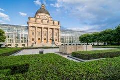 Bavarian State Chancellery. (Bayerische Staatskanzlei) in a summer day Stock Images