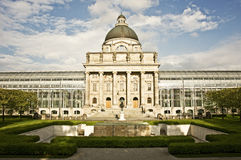 Bavarian State Chancellery Stock Photo