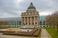Bavarian State Chancellery building in Munich Royalty Free Stock Images