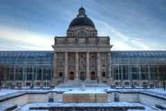 Bavarian State Chancellery, Munich Germany Stock Photos