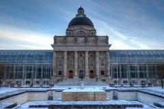 Bavarian State Chancellery, Munich Germany Stock Photos
