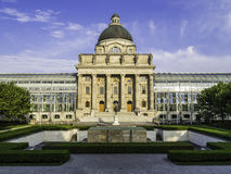 Bavarian State Chancellery in Otto park Stock Photography