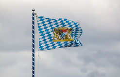 Bavarian state flag Royalty Free Stock Images