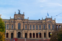 Bavarian State Parliament Royalty Free Stock Photos