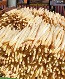 bavarian szparagowi rolnicy wprowadzać na rynek biel Fotografia Stock