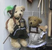 Bavarian Teddy Bears Royalty Free Stock Images