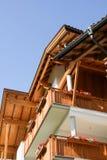 Bavarian timbered house Royalty Free Stock Photos