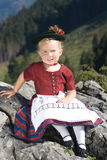 Bavarian toddler Royalty Free Stock Image