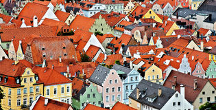 Bavarian Town Royalty Free Stock Photos