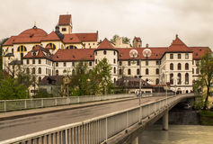 Bavarian Town Fuessen, Germany Stock Images